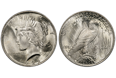 US Peace Dollar